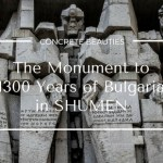 Monument to 1300 Years of Bulgaria in Shumen, Bulgaria
