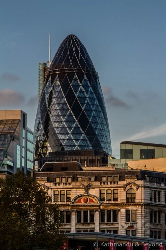 30 St Mary Axe (The Gherkin) London England-1-Edit