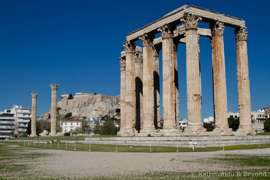 Temple of Olympian Zeus Athens Greece-4