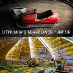 An Abandoned Amusement Park In Elektrenai Lithuania Jet Star 2