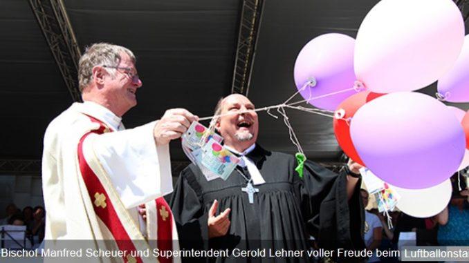 Fronleichnam und Luther-Gedenken ergibt