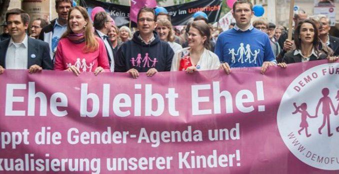 """Demo für alle ruft zur Blitzaktion """"Ehe bleibt Ehe"""" gegen Merkels Übrrumpelungsaktion zur Einführung der """"Homo-Ehe"""" auf"""