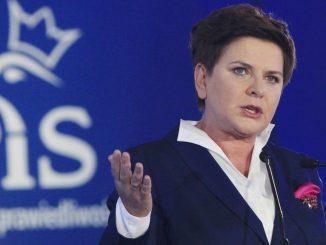 Beata Szydlo, Polens Ministerpräsidentin