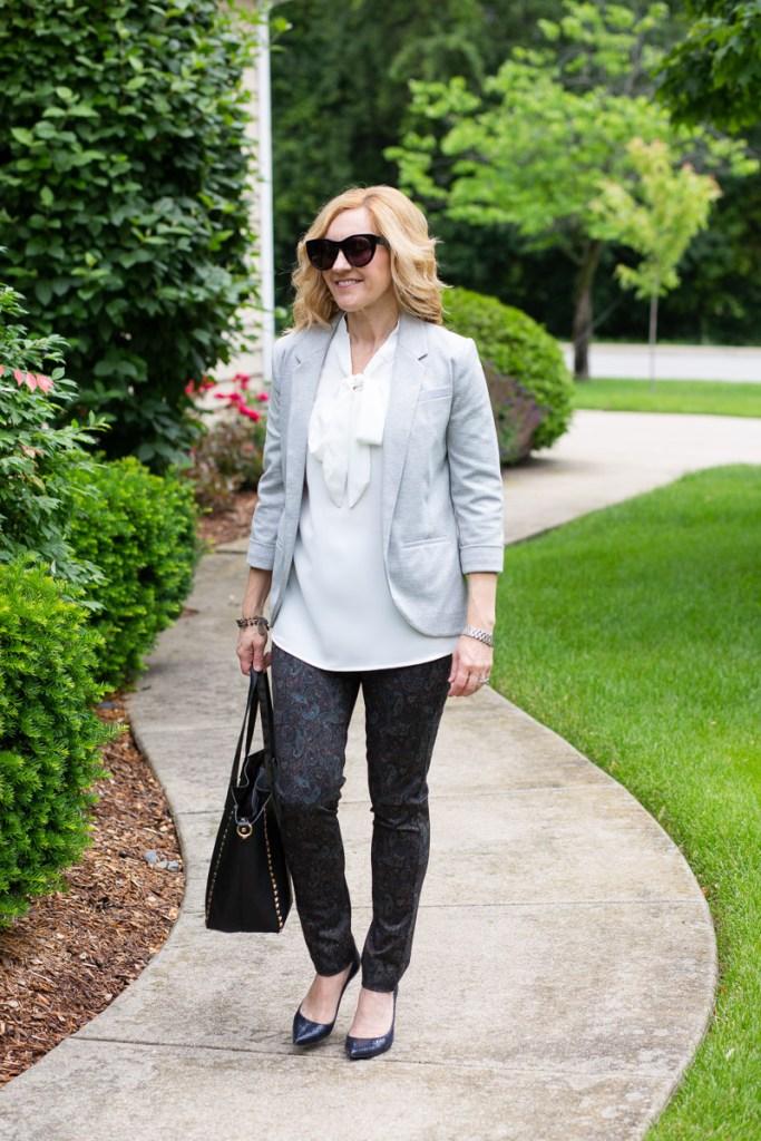 The Best Summer Work Blouse by Kathrine Eldridge, Wardrobe Stylist