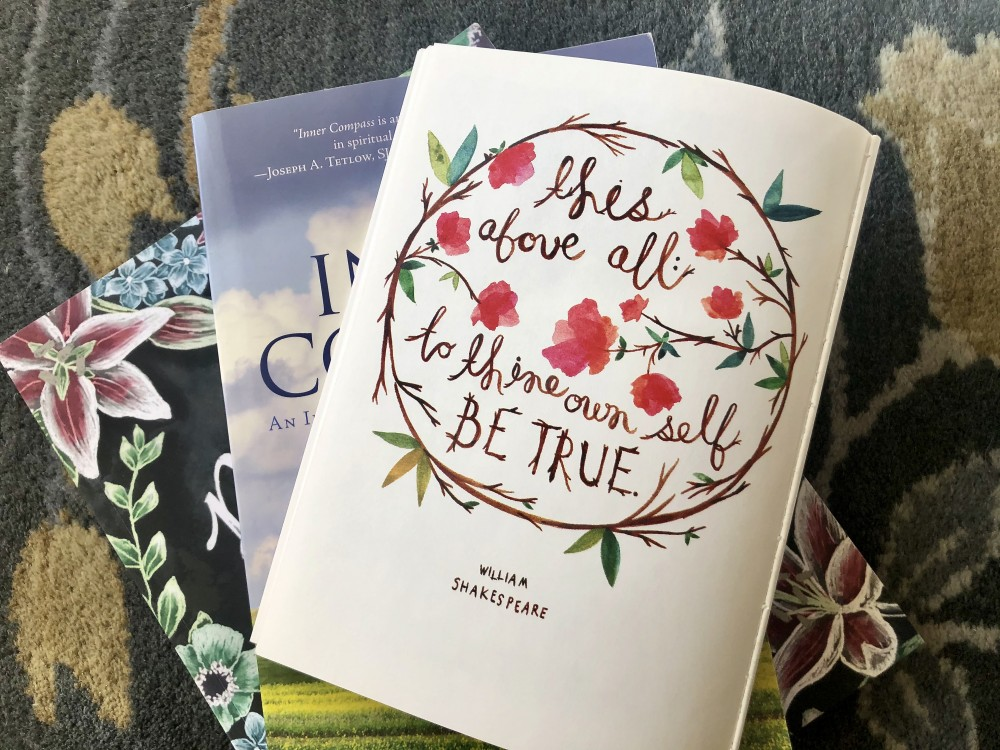 Books for My Spiritual Journey by Kathrine Eldridge, Wardrobe Stylist