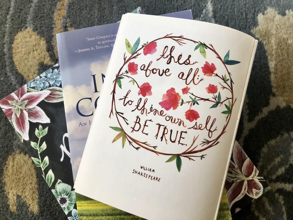 Books for My Spiritual Journey by Kathrine Eldridge, Wardrobe Stylist
