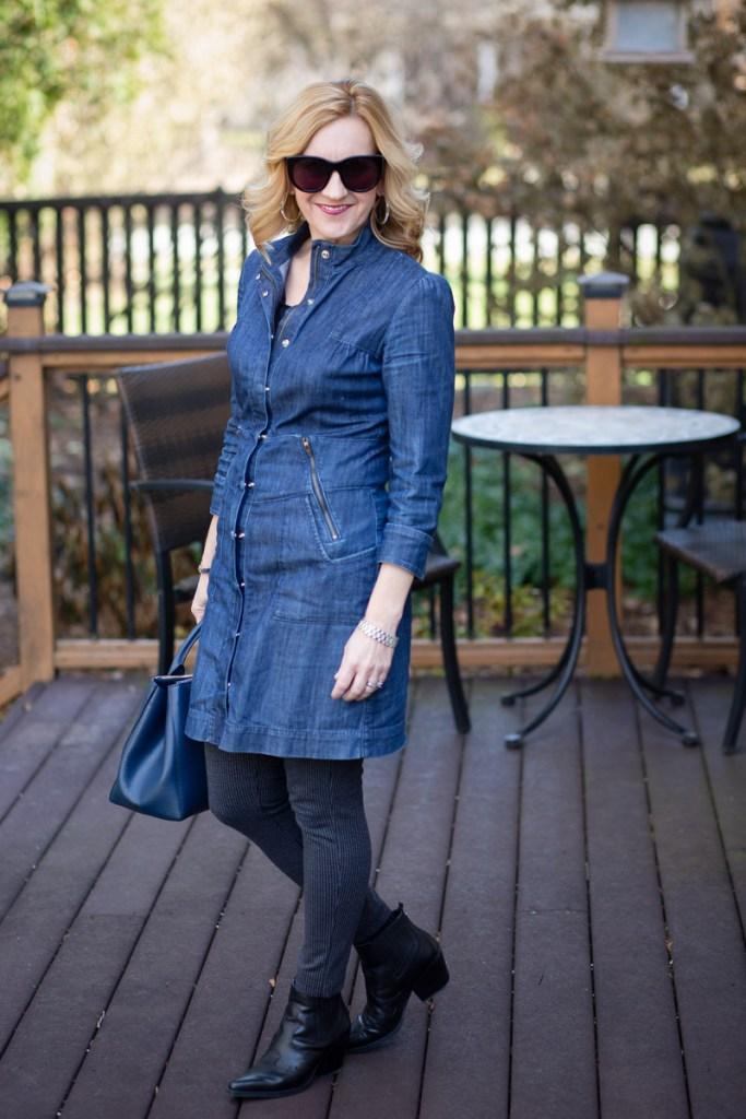 Denim Dress Diva by Kathrine Eldridge, Wardrobe Stylist