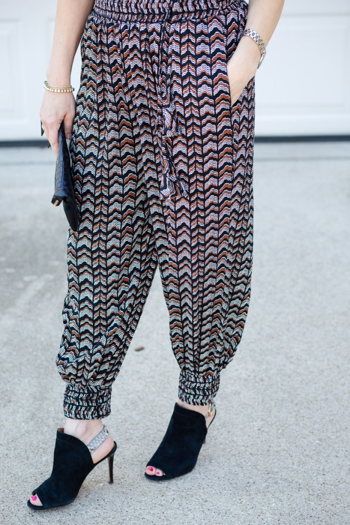 Abstract Joggers from Anthropologie