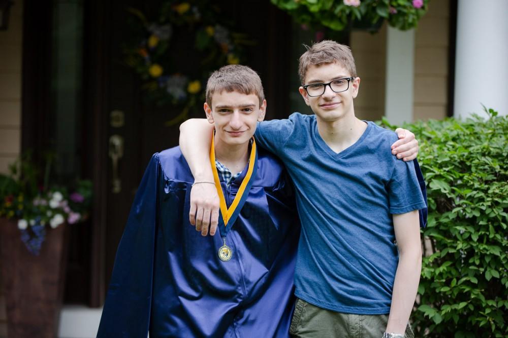 My two sons, Evan and Austin Eldridge