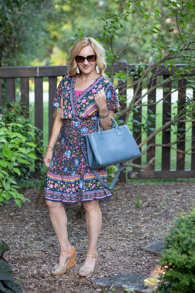 A summer chic dress that never goes out of style.