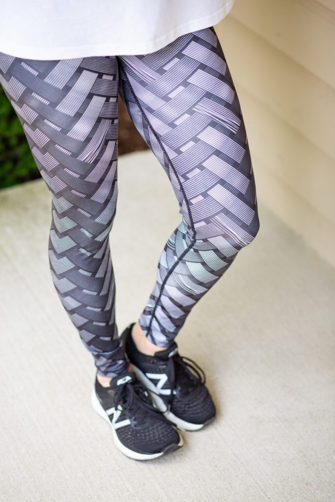 Mixx Interlaced Pattern Leggings from Blue Diem