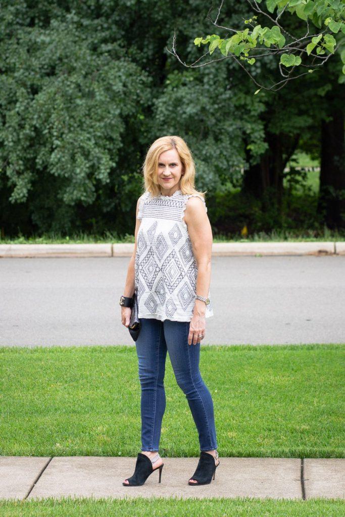 Summer Uniform with Feminine Edge by Kathrine Eldridge, Wardrobe Stylist