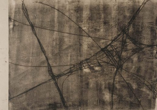 Monotypie Öl auf Papier • 84,1 x 59,4 cm