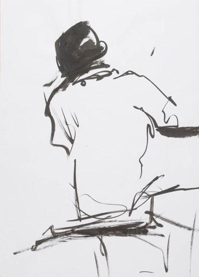 Tusche auf Papier • 60 x 90 cm