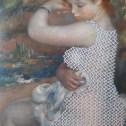 """Pierre-Auguste Renoir """"Nach dem Bade"""", 1888"""