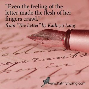 red letter for The Letter Short Story