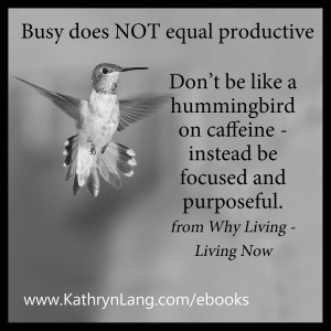 Hummingbird effect - define your why