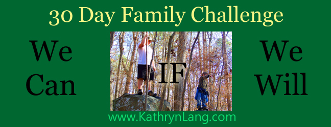 30 Day Family Challenge