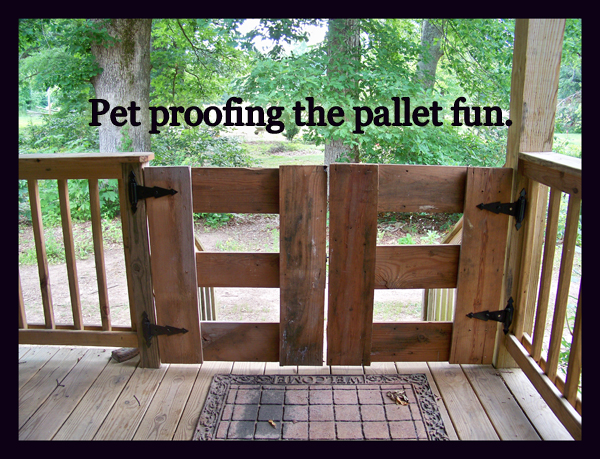 pallet fun - protecting