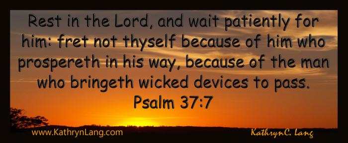 psalm 37-7