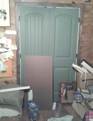 closet doors blank