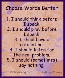 choose words better