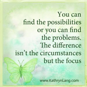 Quote of the day - change focus