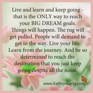 Quote of the Day - Keep Going