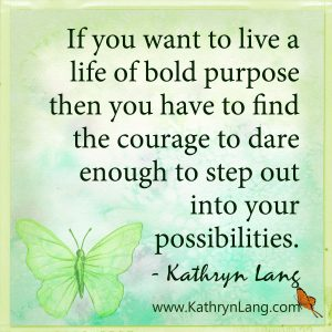 Quote of the Day - Bold Purpose