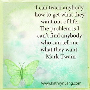 Quote of the Day- What they want by Mark Twain