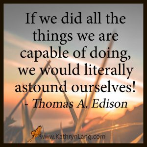 Quote of the Day - Thomas Edison