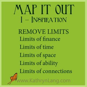 #GrowingHOPE - MAP IT OUT - Inspiration - Remove Limits