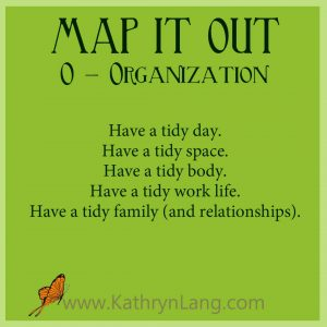 #GrowingHOPE - MAP IT OUT - Organize