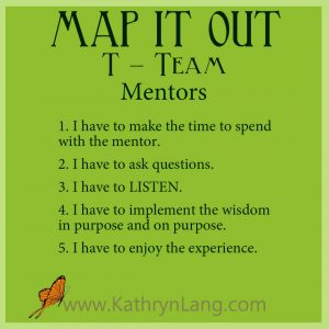 MAP IT OUT - Team - Mentors