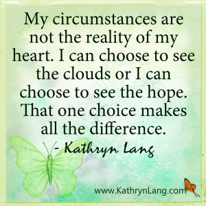 Quote of the Day - the choice of HOPE
