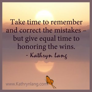 quote of the day - honor the wins