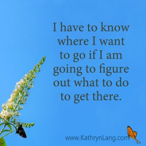 Quote of the day - Know where to get there