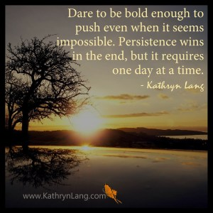 Quote of the Day - Persistence Wins