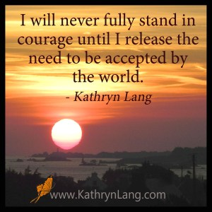 Quote of the Day - Stand in Courage