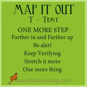 #GrowingHOPE - MAP IT OUT - Test - One More Step