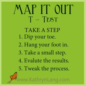 #GrowingHOPE - MAP IT OUT - Test - Take a step