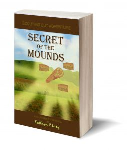 books - scouting out adventure- secret of the mounds - Kathryn C Lang