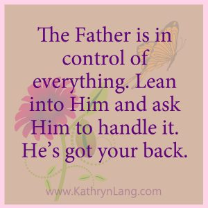 #GrowingHOPE with Kathryn Lang - God's Got Your Back