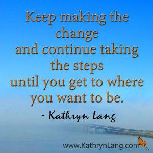#Quoteoftheday with #GrowingHOPE - Make the change