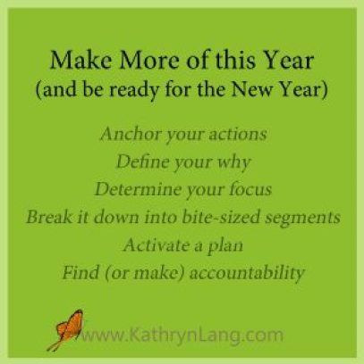 New Year focus and purpose with Kathryn Lang