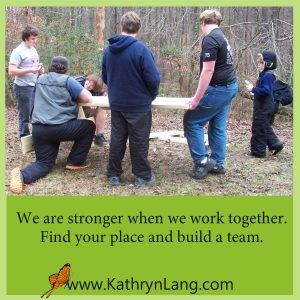 team building - stronger together