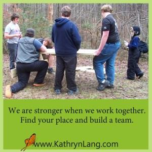 team building - stronger together