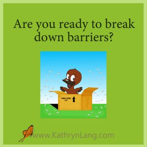 break down barriers