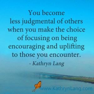 focus on encouraging