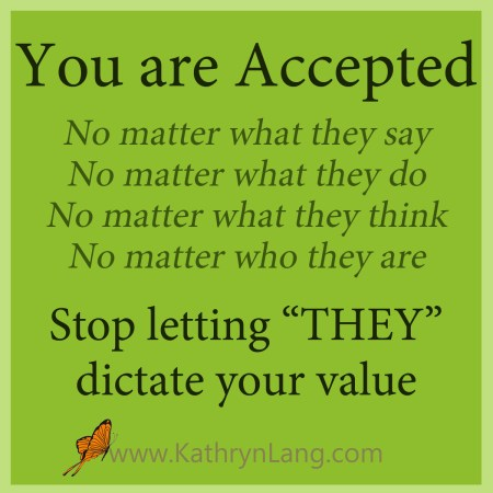 You are accepted